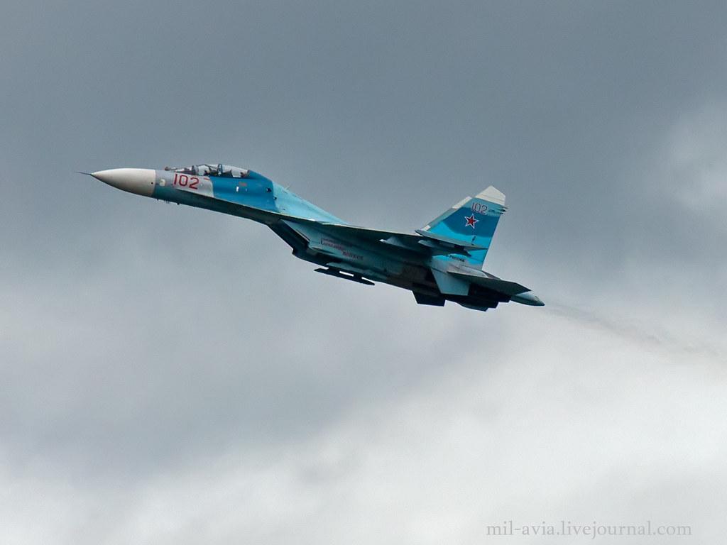 Su-27UB 102 RED