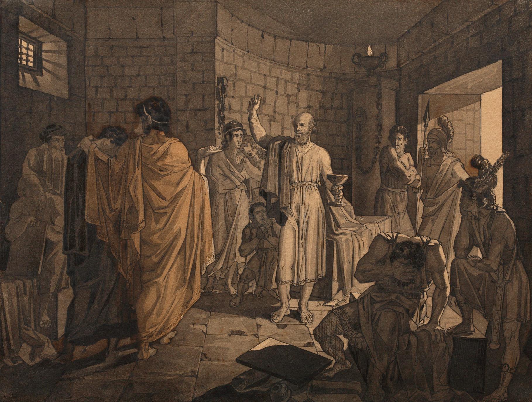 1837. Смерть Сократа
