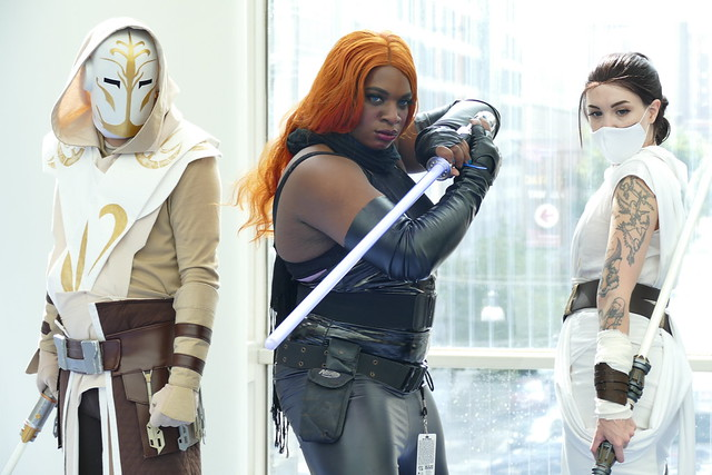 Jedi Knights and Temple Guard