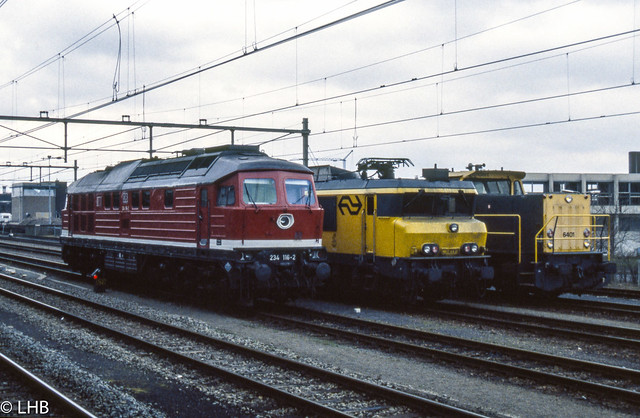 DBAG 234 115, NS 1611, 6401