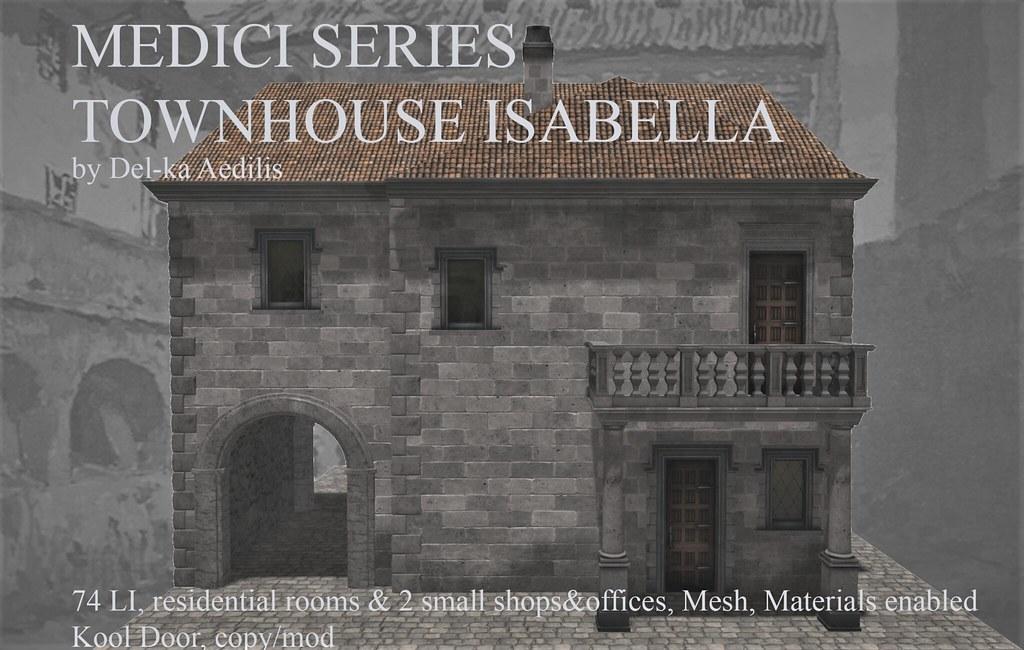 Medici Series – Townhouse Isabella