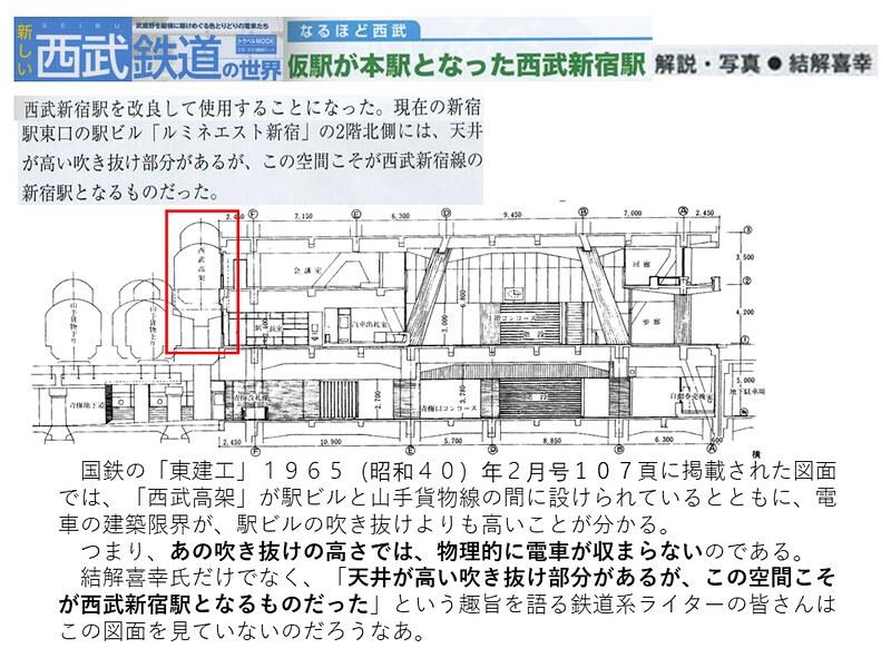 交通新聞社「新しい西武鉄道の世界」結解喜幸氏の新宿駅乗り入れ記事がひどい (13)