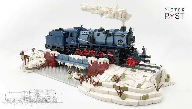 Winter is coming! Prussian G12 in Royal Württemberg colours.