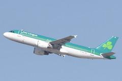 EI-GAL Aer Lingus A320 14/8/21 in Santorini to Dublin (DUB)