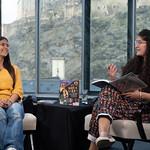 Mya-Rose Craig and Nadine Aisha Jassat | © Robin Mair