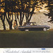 Ford Thunderbird advert from the National Geographic Magazine of  June 1962