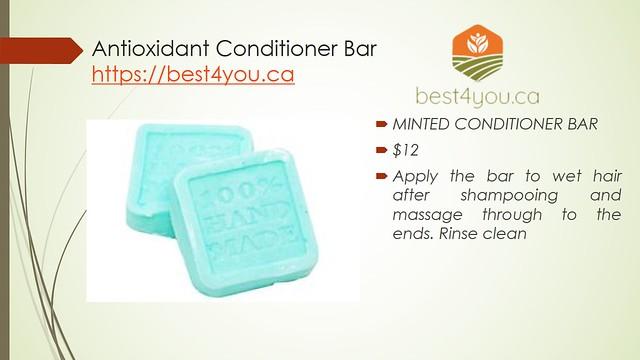 Antioxidant Conditioner Bar