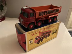 Lovely mint boxed -MATCHBOX -King size -Foden S21 tipper -HOVERINGHAM .I found this many years ago in a collectors toy shop in north London .