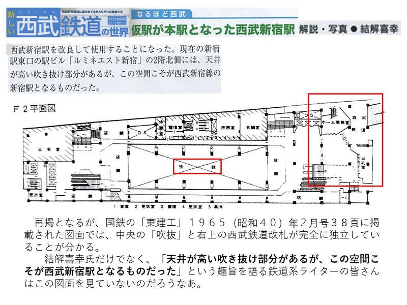 交通新聞社「新しい西武鉄道の世界」結解喜幸氏の新宿駅乗り入れ記事がひどい (14)