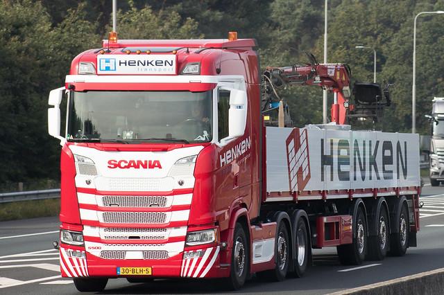 Scania S500, from Henken, Veenendaal Holland.