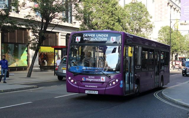 36566 LX13CZJ Training bus