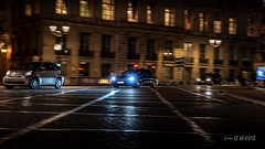 Taxi parisien by night