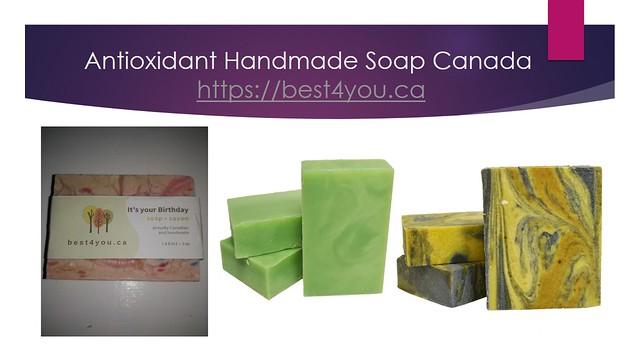 Antioxidant Handmade Soap Canada