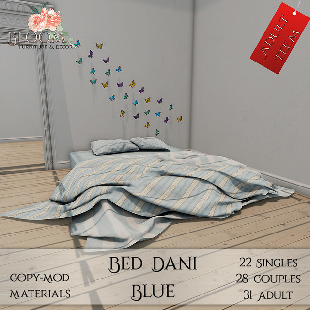 Bloom! - Bed Dani Blue (A)AD
