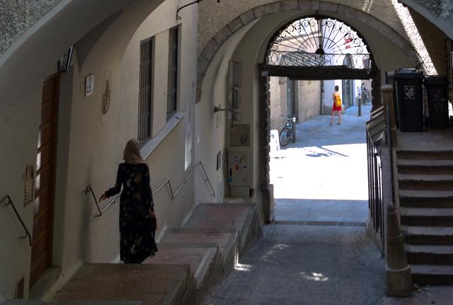 Salzburg medieval quarter, Austria