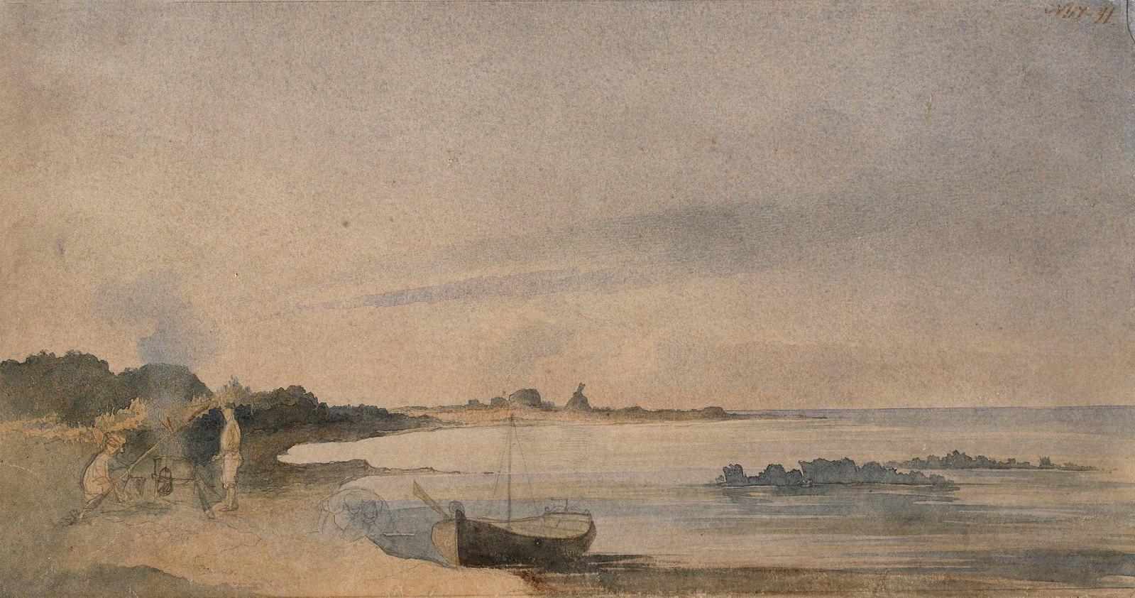 1848. На берегу Аральского моря
