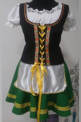 Женский карнавальный костюм Баварский