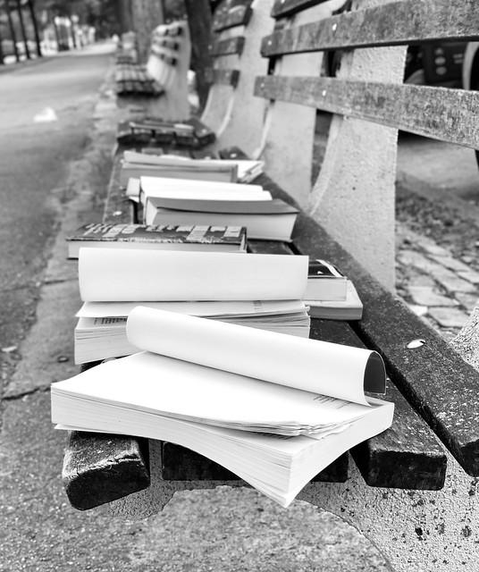 Abandoned books