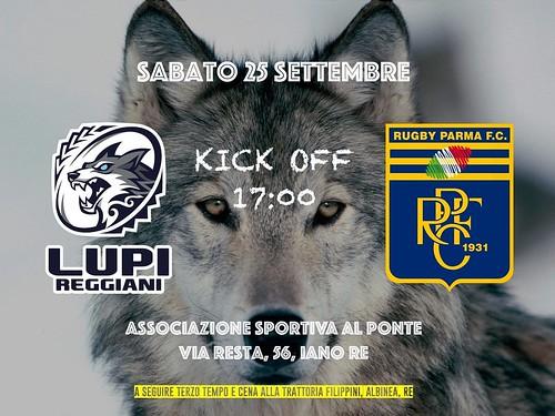 Lupi Reggiani vs RPfc Cadetta