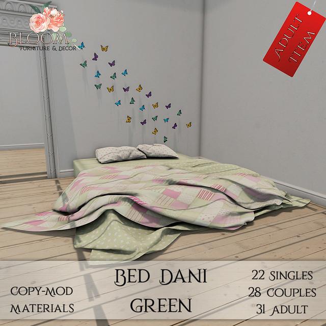 Bloom! - Bed Dani Green (A)AD