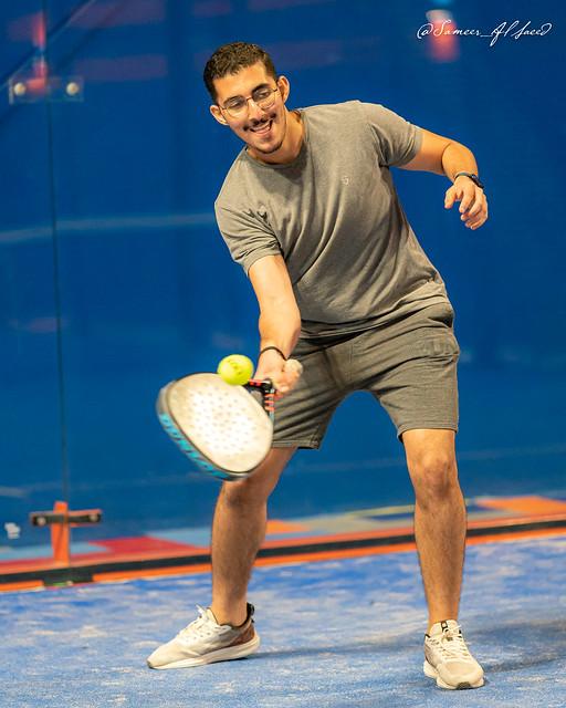 Paddel Tennis Practice