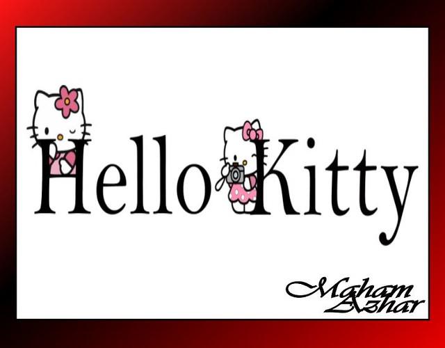 Hello Kitty-Typography