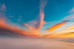 Over the fog | Kaunas aerial
