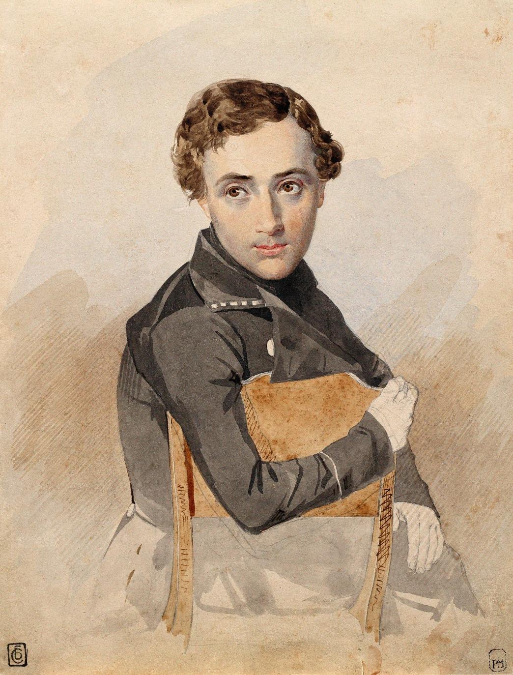 1837. Портрет неизвестного