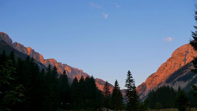 Sonnenaufgang im Seetal / Sunrise at Lake Valley
