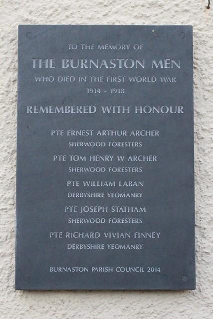 Burnaston War Memorial