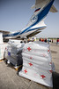 The European Union joined forces with Spain to finance a plane that reached Haiti carrying medical equipment, tarpaulins and water treatment modules among other equipment.  ©IFRC. All rights reserved. Licensed to the European Union under conditions.