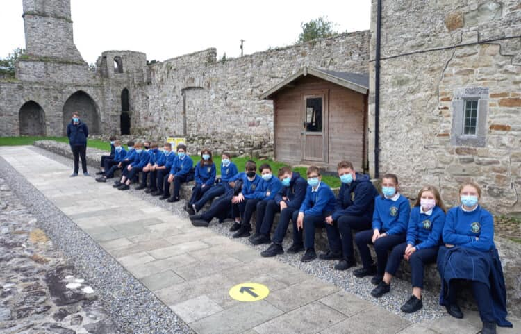 ACC First Year Students at Boyle Abbey