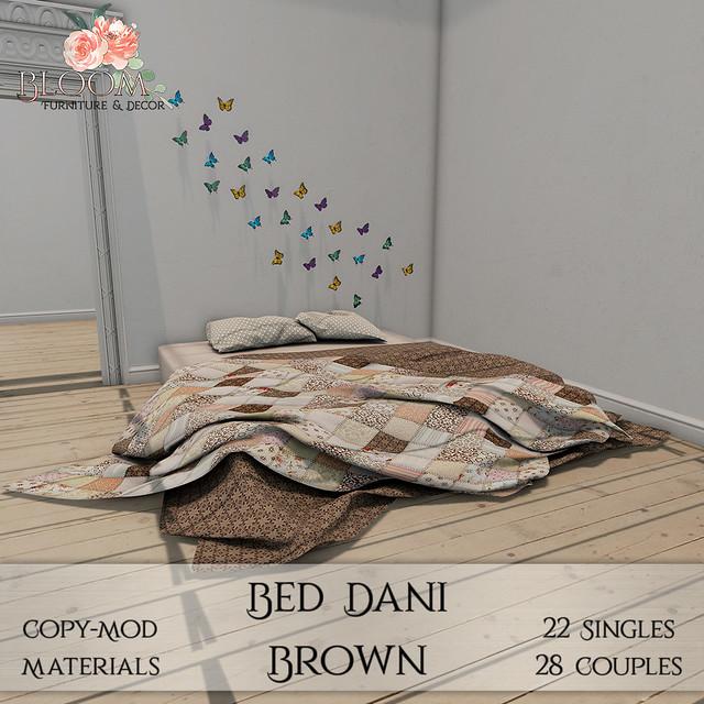 Bloom! - Bed Dani Brown (PG)AD