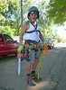 Tree climber and gear