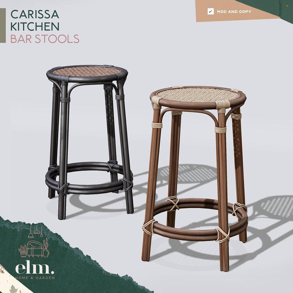 Elm. Carissa Kitchen Bar Stool – FLF