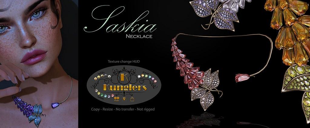 KUNGLERS Saskia necklace