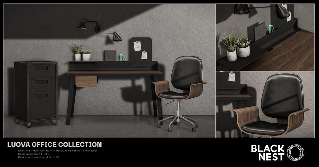 BLACK NEST | Luova Office Collection | Uber