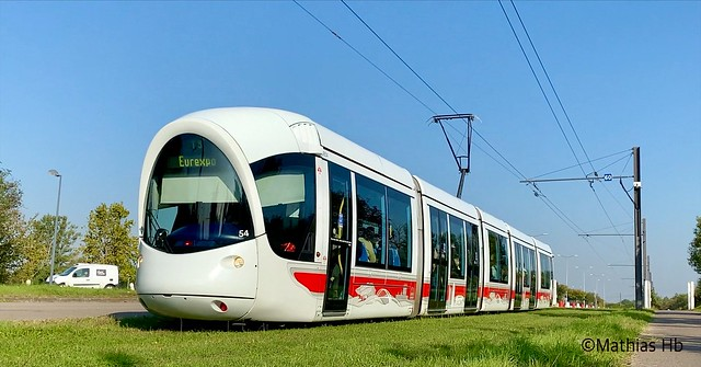 Alstom Citadis 302 n°854 - TCL