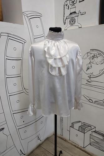 Мужской карнавальный костюм Атласная рубашка