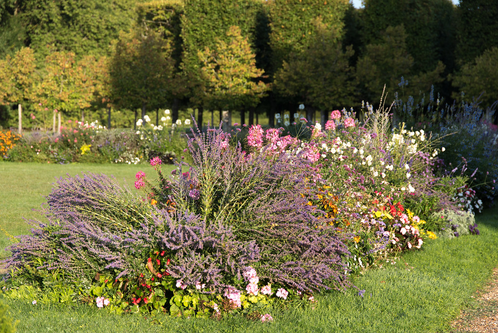 Jardins du château de Rambouillet (Yvelines, France)