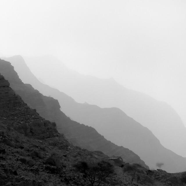 Ras Al Kaimah mountain