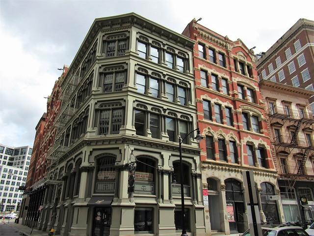 Equitable and Wilcox buildings, Weybosset Street, Providence, Rhode Island
