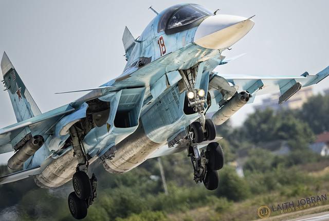 Sukhoi Su-34 Fullback / Су-34 ОКБ Сухого