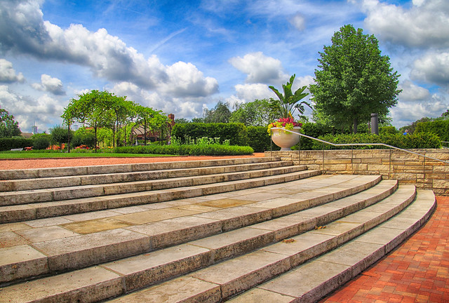 Stairs at Cantigny
