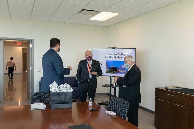 HCC Welcomes Mexican Consulate at Coleman College of Health Sciences