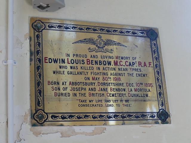 Captain Edwin Louis Benbow M.C.
