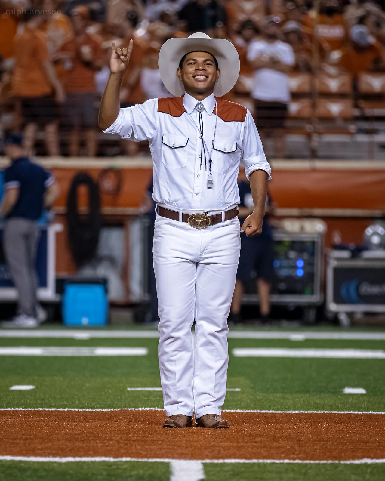 Longhorn Band   Texas Review   Ralph Arvesen