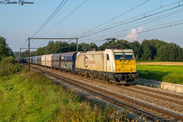 ECR/DB Cargo Belgien 186 315 @ 's Herenelderen