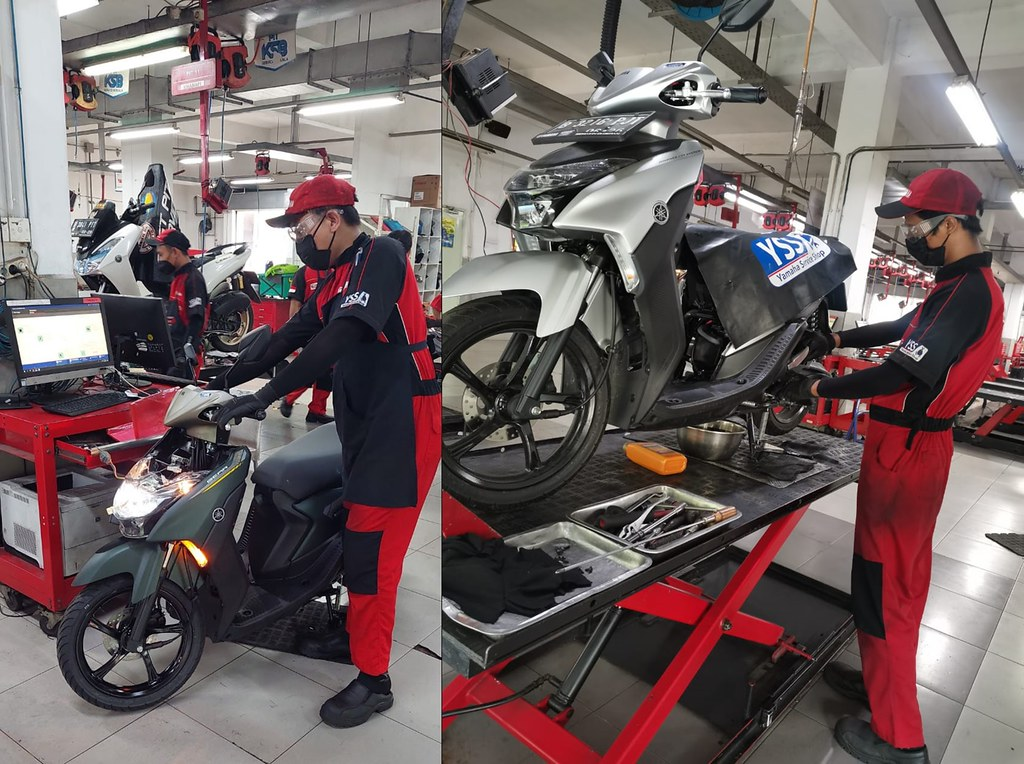 Perawatan Yamaha GEAR 125 Dengan YDT