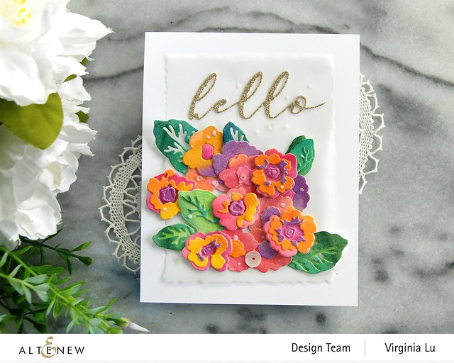 Altenew-CAF Primrose Blossom-Artists' Watercolor 24 Pan Set-Gilded Card Stock -004